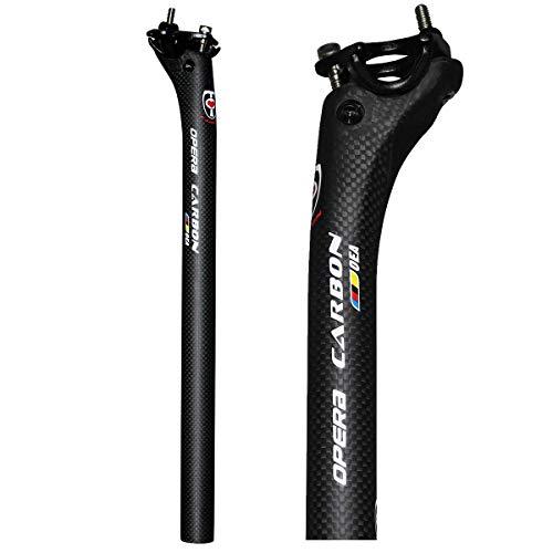 OPERA自転車用シートポスト炭素繊維シートチューブロードバイクやマウンテンバイカーボン シートポスト350 ...