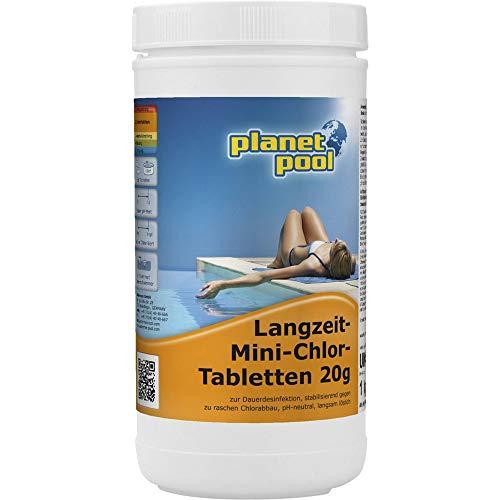 Planet Pool Langzeit-Mini-Chlor-Tabletten 20g 1 kg