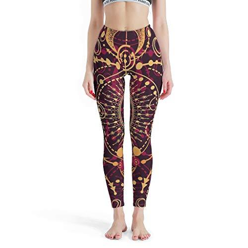 NeiBangM leggings yoga broek dames potloodbroek stretchbroek voor gym sport