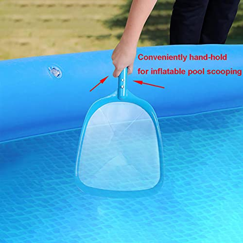 ATIE Pool Spa Leaf Skimmer Net with White Ultra Fine Mesh Great for Removing Leaves