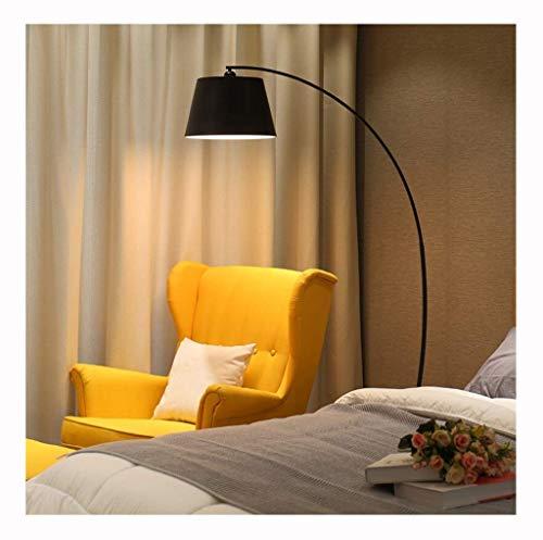 Vloerlamp Woonkamer Geel Moderne Studie Slaapbank Slaapkamer Decoratieve Vloerlamp Lezen Vloerlamp (Kleur : Wit)