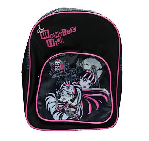 Undercover MHIN7600 - Rucksack mit Vortasche Monster High, ca. 30 x 23 x 9 cm