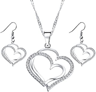 ROXI 18K silver plated Jewelry Set 3 pieces
