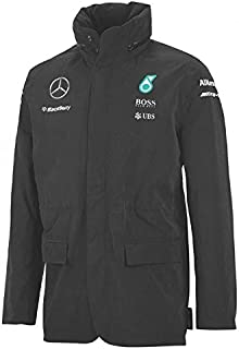 Mercedes AMG Team Rain Jacket 2015 S Black