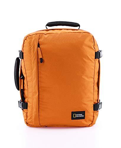 NATIONAL GEOGRAPHIC Nat Geo Hybrid rugzak met 3 funkties S - Mochila (40 cm), color naranja
