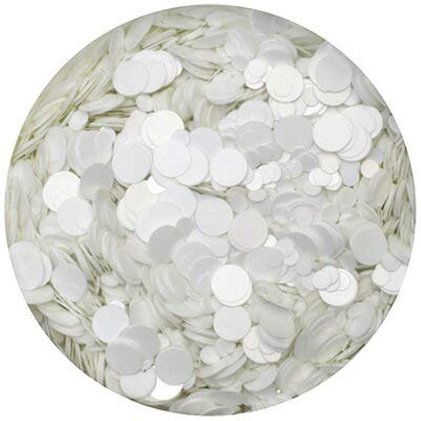 多様な欠かせないラフトSHAREYDVA ホログラム 丸 ホワイト 1mm&2mm