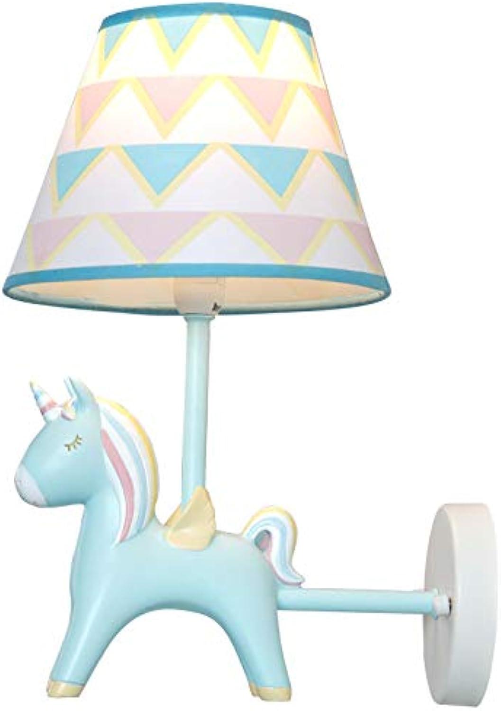 Einhorn Kinderzimmer Wandleuchte Schlafzimmer Scheinwerfer Kreative Led Nordic Country Schne Cartoon Lampe Beleuchtung