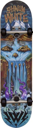 Shaun White Waterfall Skateboard 31,5x 8