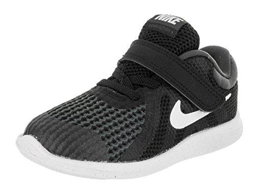 Nike Unisex Baby Revolution 4 Hausschuhe, Schwarz Black White Anthracite 006, 22 EU