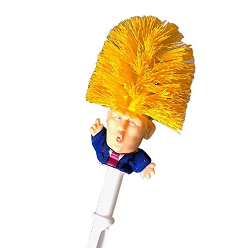 MAyouth 1 Stück Donald Trump WC-Schüssel Pinsel lustige Gag Geschenk WC Great Again (Klobürste)