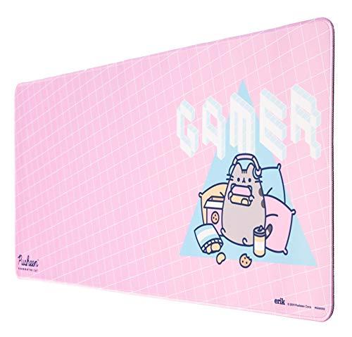 Grupo Erik XL Mausepad Pusheen für Laptop, Computer und PC - Gaming Mousepad - Mauspad Pink