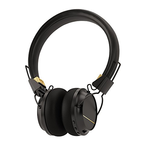 Sudio Regent Bluetooth Wireless Headphone - Black/Gold Metal