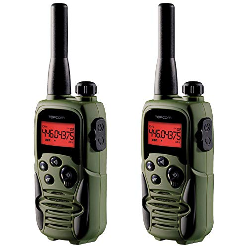 Topcom RC-6406 Twintalker 9500 Airsoft Edition Walkie Talkie, Verde