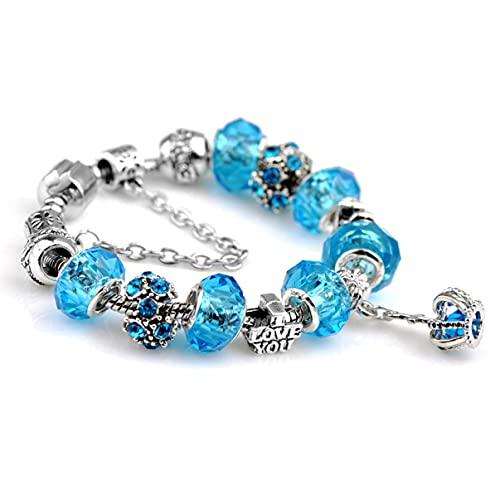 Cadena de Hombres Barata Conjunto de Pulseras de Amor Personalizadas Paquete Chakra Regalos del día de la Madre para la Esposa muñeca de Tenis Diamante en Capas esterlina Parejas brazaletes de Moda