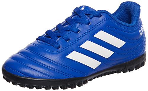 adidas Copa 20.4 TF J, Zapatillas de fútbol, AZUREA/FTWBLA/AZUREA, 28 EU