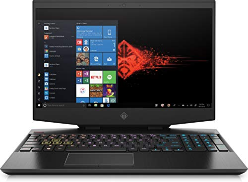 HP OMEN 15-dh0017ns - Ordenador portátil de 15.6' FHD 144 hz (Intel Core i7-9750H, DDR4 de 16 GB, SSD de 1 TB PCIe NVMe M.2, NVIDIA GeForce GTX 1660 Ti, FreeDOS) Negro - Teclado QWERTY Español
