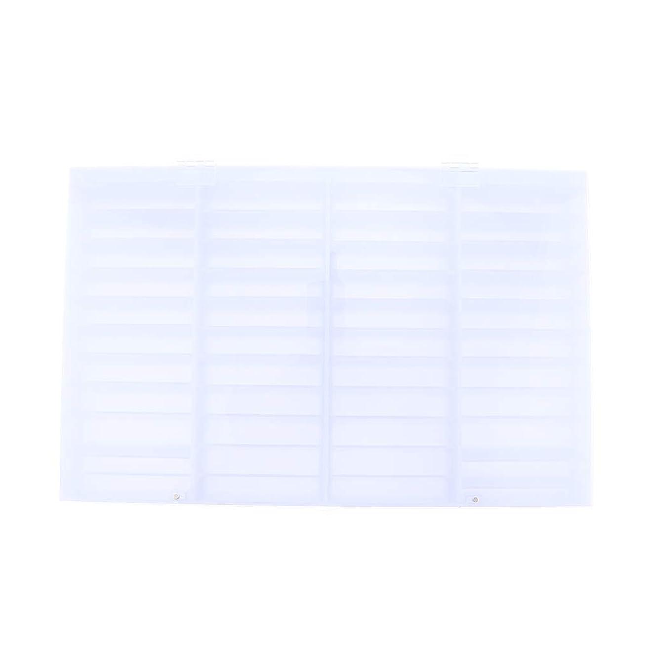 見習い依存前書きSharplace ネイルチップ 収納ボックス 小物入り 収納容器 ディスプレイケース 44コンパートメント 便利