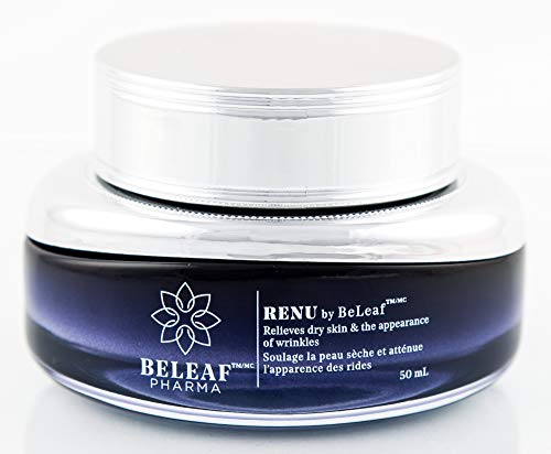 RENU by BeLeaf Moisturizing, Anti-aging Cream for Men and Women, Reducing the Appearance of Wrinkles and Fine Lines