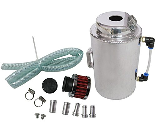 EPMAN Réservoir de récupération d'huile universel de 2 litres avec filtre reniflard
