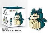 Zenghh Fresco de Bloque de construcción, rompecabezas 3D Ensamble Modelo ladrillos del bloque Set + 620 Pcs Pixel Bloques mascotas Sprite Nano Mini bloques de DIY juega, juguete educativo, adecuado fo