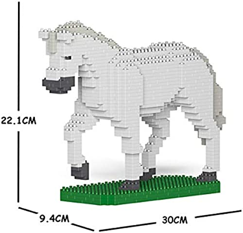 JECKA Animal Building Blocks for Kidults Horse 02S-M02