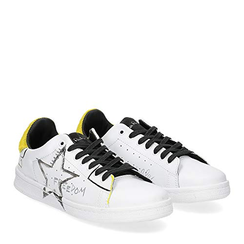 Nira rubens - nira rubens daiquiri dast178 sneaker bianca stella yellow writer - 38