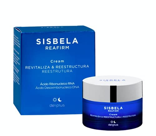 Sisbela Crema Facial Día y Noche Antiedad Hidratante, Revitalizante y Reestructuradora 50 ml (Formato Nuevo)