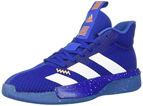adidas Men's Pro Next 2019 Basketball Shoe, Collegiate Royal/White/Blue, 11 M US