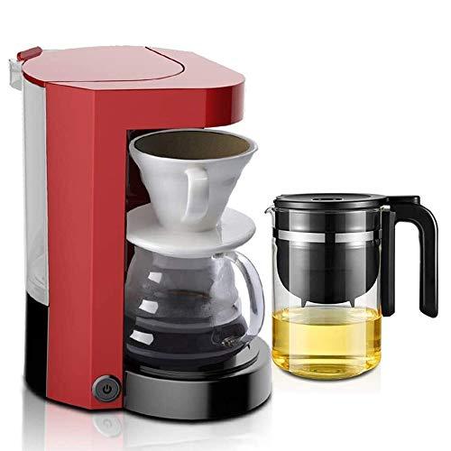 TYUIOYHZX Totalmente automática de América Máquina de café, cafeteras de Goteo for café y té, Filtro de Tres Capas