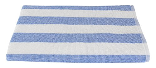 Bleach Safe Luxury Beach Towel Cabana Stripe-...