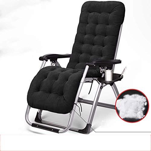 NMDD Sun Lounger Klappstuhl Recliner Klappstuhl Recliner Bett Siesta Stuhl Bürostuhl Freizeit Freizeit Home Stuhl Klappstuhl (Farbe, 1001), 1001