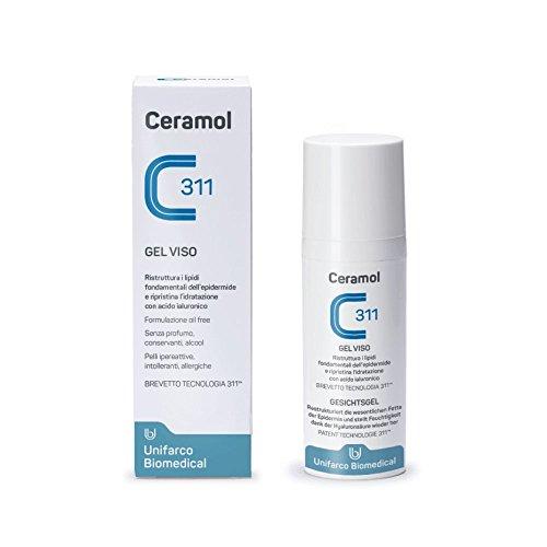 Unifarco Ceramol Gel Viso - 50 ml