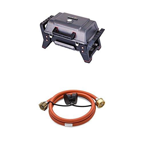 Char-Broil X200 Grill2Go - Tragbarer Gasgrill + 140 531 Adaperkit