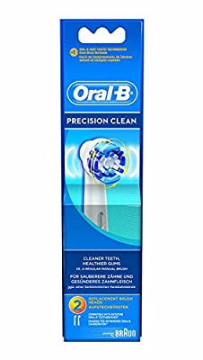 Oral-B PrecisionClean Electric Toothbrush Replacement Heads Powered by Braun