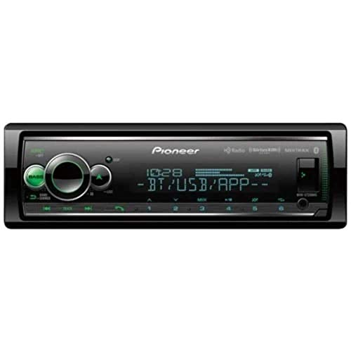 Pioneer MVH-S720BHS Short Chassis Digital Media Receiver with Enhanced Audio Functions, Smart Sync App…