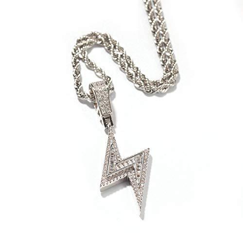 Europäische und amerikanische neue Hip-Hop-Halskette, Kreuzanhänger, Accessoires für Modepaare