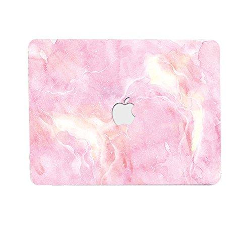 AQYLQ Funda Dura para MacBook Air 13 Pulgadas (A1369/A1466), Ultra Delgado Carcasa Rígida Protector de Plástico Cubierta - Rosa Claro