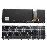 Laptop English Backlit Keyboard for HP Envy 15-J 17-J 720244-001 711505-001 736685-001 6037B0093301 V140626AS2 Laptop US