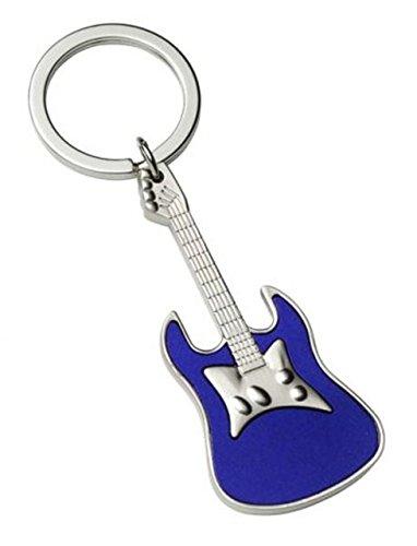 Ten sleutelhanger blauwe gitaar cod.EL2419 cm 10,5 x 3,3 x 1 h door Varotto & Co.