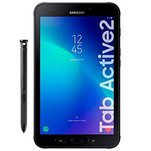 Samsung Galaxy Tab Active 2 (WiFi) - Tablet Resistente de 8' (1280 x 800 WXGA, cámara 8 MP, 3 GB RAM, 16 GB ROM Ampliable 256 GB, batería 4450 mAh extraíble, Android 9) - Versión Española