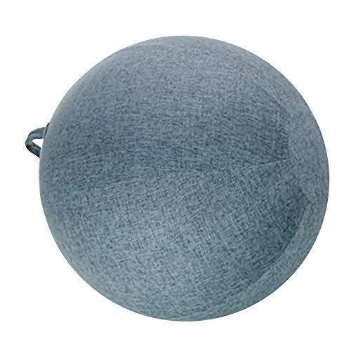#N/A Bezüge für Gymnastikball Yoga Pilates Gym Ball Cover Abdeckung - Blau, 65cm