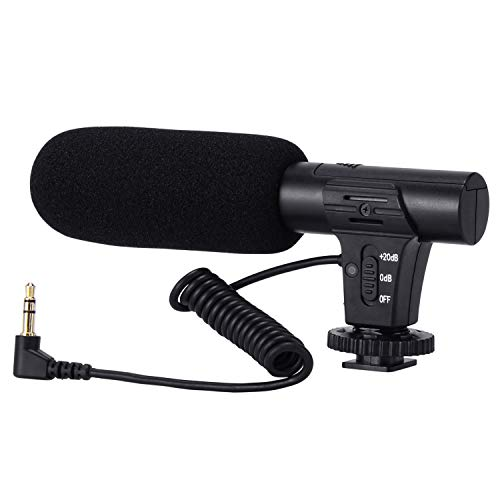 Camera Microphone, Video Microphone for...