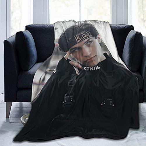 Chase Hudson Überwurfdecke für Stuhl/Bett/Couch/Sofa mit Digitaldruck, ultraweiches Mikro-Fleece, weich und warm