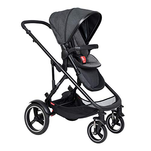 Best Price phil&teds Voyager Uptown Inline Stroller, Charcoal