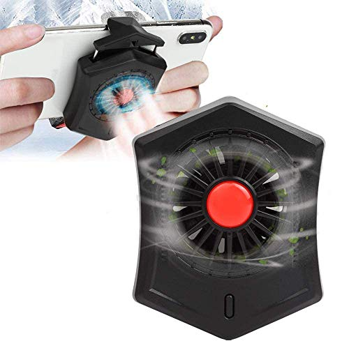 picK-me Cell Phone Cooler, Radiador de Teléfono Para Jugar Juegos, Mirar Videos, Compatible con iPhone / Android Universal Smartphone