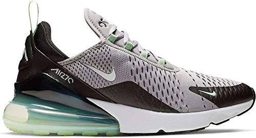 Nike Herren Air Max 270 Leichtathletikschuhe, Mehrfarbig (Atmosphere Grey/White/Fresh Mint/Black 1), 41 EU