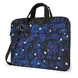 Bolsa Para Portátil Galaxy Stars Magic Glow In The Dark Bolso Para Computadora Portátil Bolso Bandolera Para Computadora Maletín Para Computadora