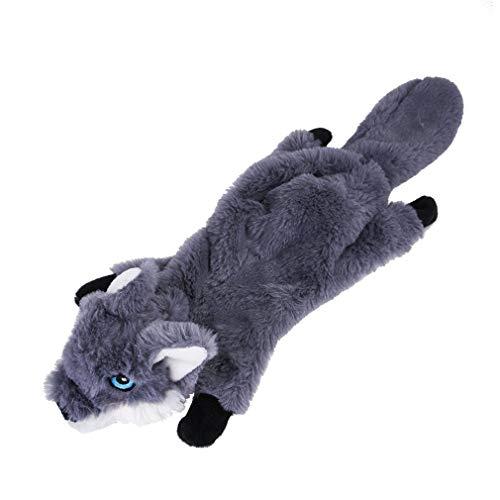 Hondenspeelgoed Knuffels Honden Geen risico Kauwspeelgoed Grijze wolf