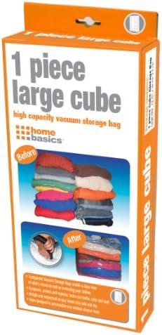 Home Basics Cube Vacuum Bag Large Plastic product image
