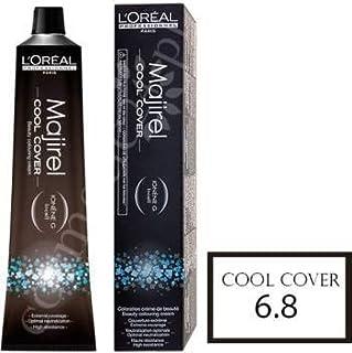Loreal Majirel Cool Cover No. 6.8 (Dark Mocha Blonde)